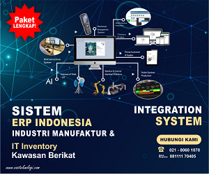 Sistem ERP Indonesia - Industri Manufaktur Integration